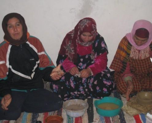 Femmes artisanes Tunisiennes